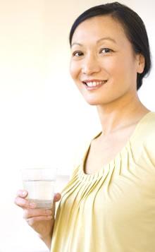 Drinking Kangen
