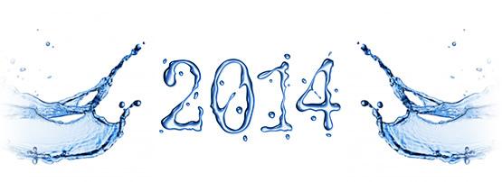 канген вода поздравляет с 2014