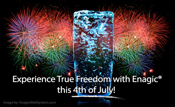 Experience True Freedom with Enagic this 4th of July!